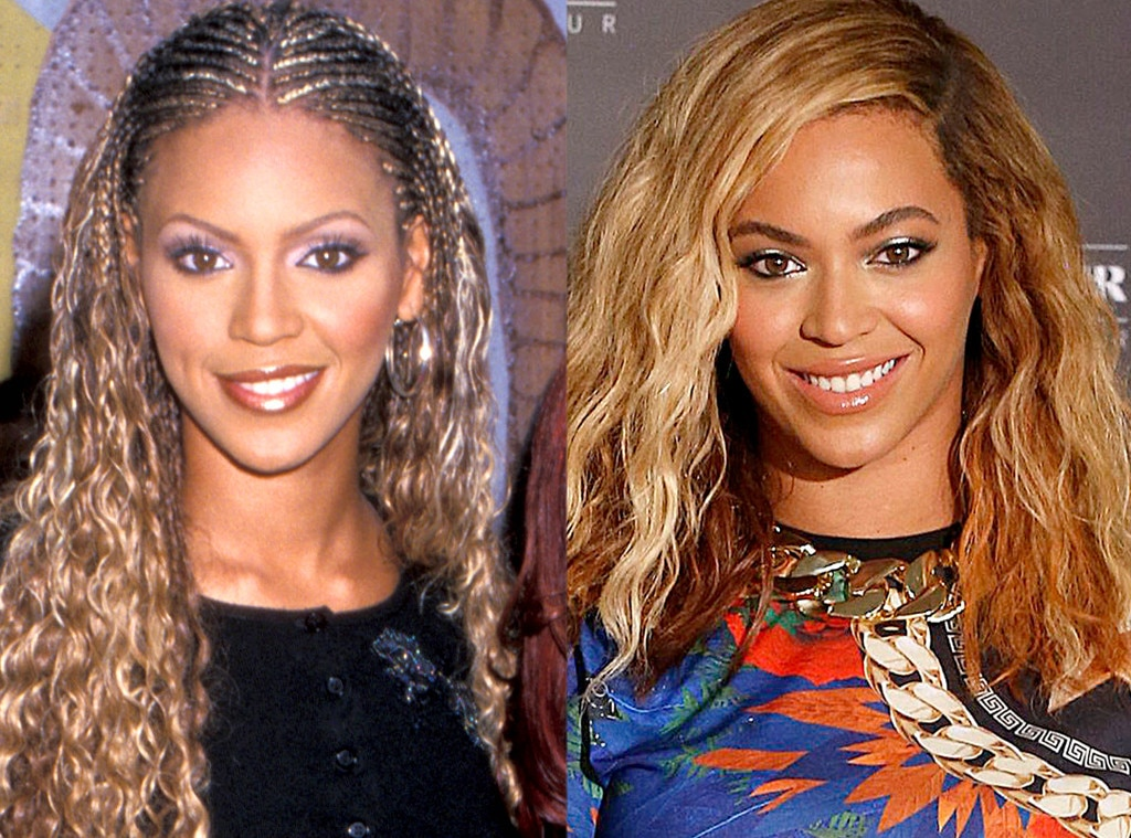 Beyonce, Then and Now
