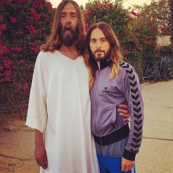 """Jared Leto, """"Jesus"""", Instagram"""