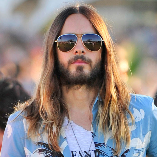 Jared Leto Poses With Jesus Look-Alike And The Resulting