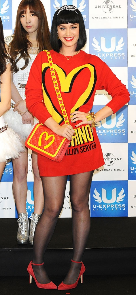 Katy Perry, Food Outfits, McDonald's