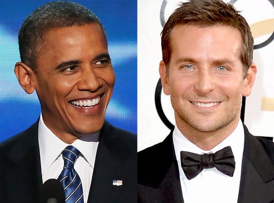 Barack Obama, Bradley Cooper