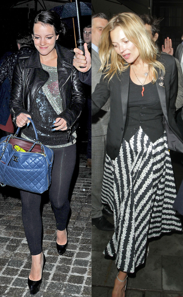 Kate Moss, Lily Allen