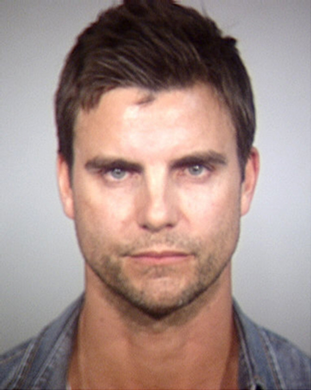 Colin Egglesfield, Mug shot