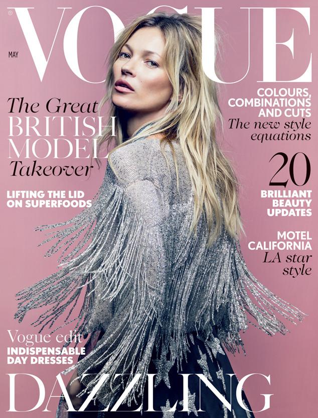 Kate Moss, Vogue UK