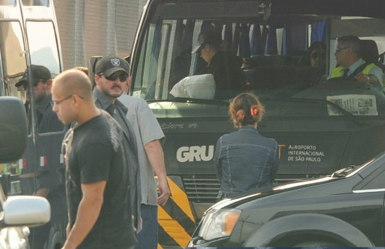 Demi Lovato desembarca no Brasil