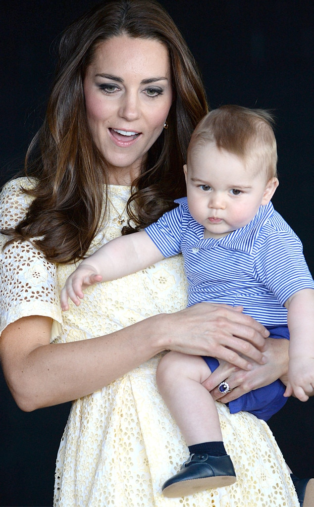 Catherine, Duchess of Cambridge, Prince George of Cambridge