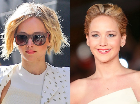 Jennifer Lawrence, Hair