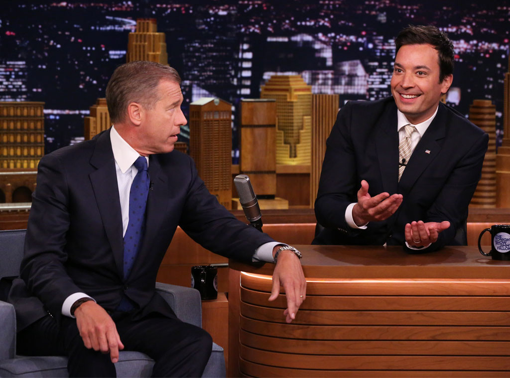 Brian Williams, Tonight Show With Jimmy Fallon