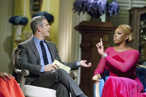 THE REAL HOUSEWIVES OF ATLANTA, Andy Cohen, Nene Leakes