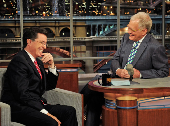 Stephen Colbert, David Letterman, The Late Show