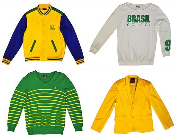 Roupas Copa do Mundo no Brasil