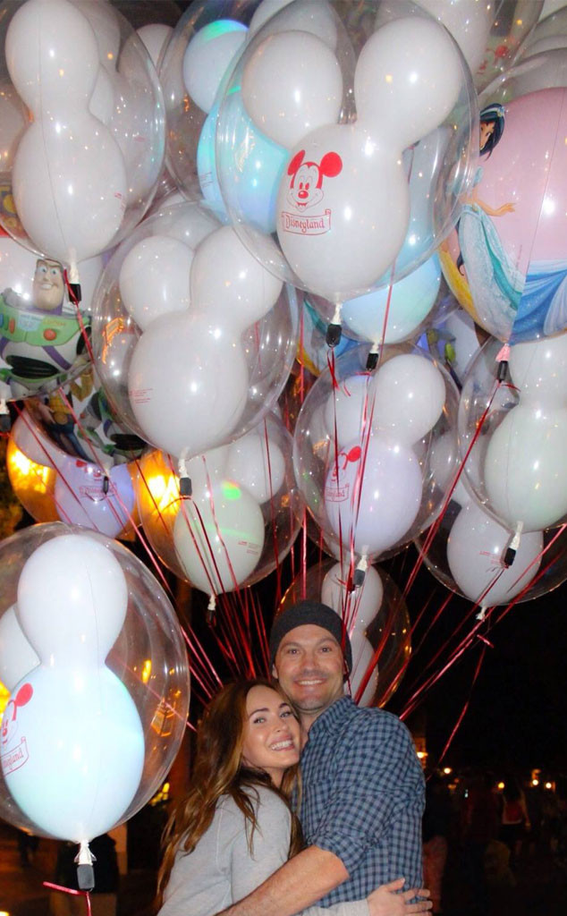 Megan Fox, Brian Austin Green, Disney