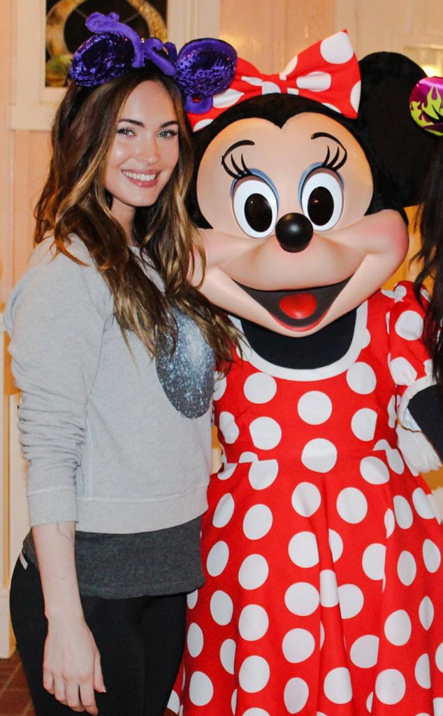 Megan Fox, Minnie Mouse, Disney