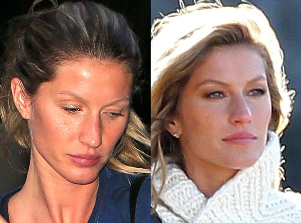 Gisele Bundchen, No Makeup