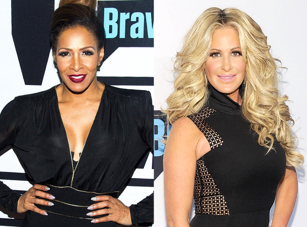 Sheree Whitfield, Kim Zolciak, Real Housewives Fights