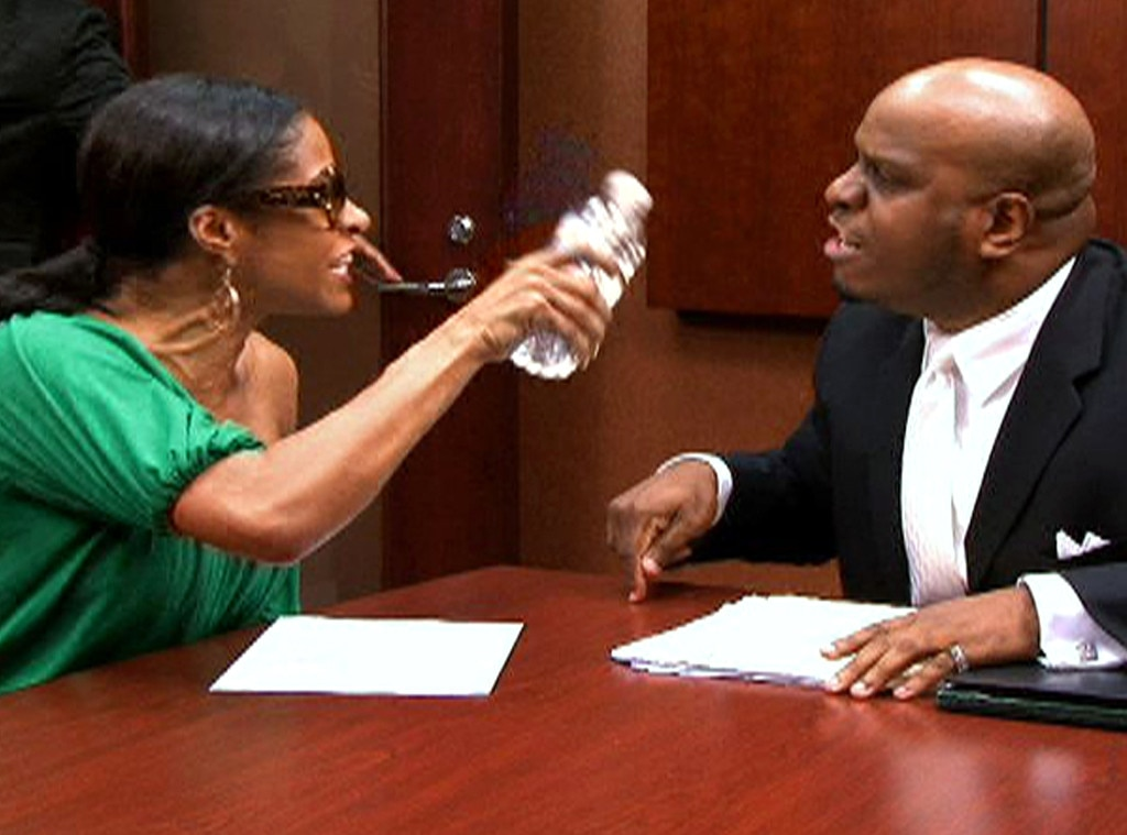 Sheree Whitfield, Antony, Real Housewives Fights