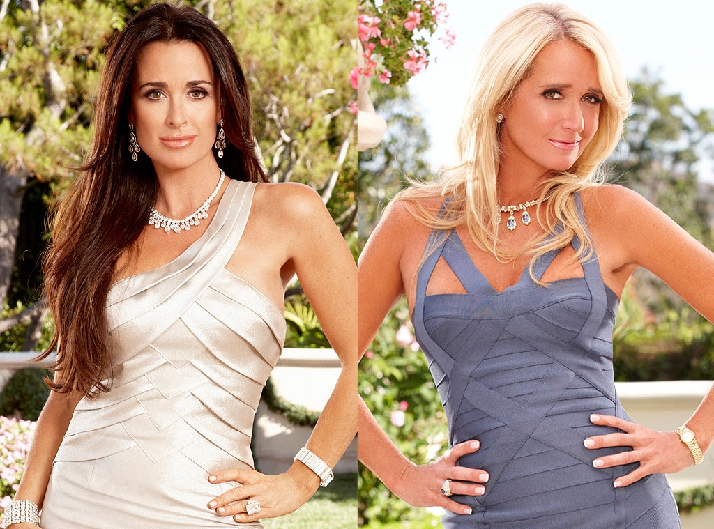 Kim Richards, Kyle Richards, Real Housewives Fights