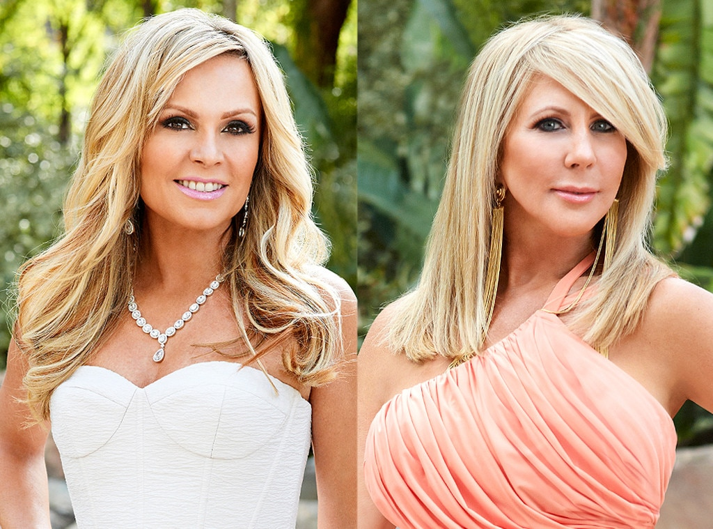 Vicki Gunvalson, Tamra Judge, Real Housewives Fights