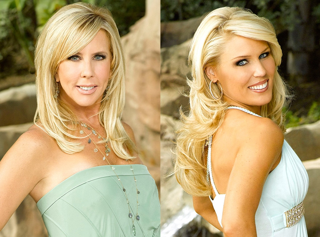 Vicki Gunvalson, Gretchen Rossi, Real Housewives Fights