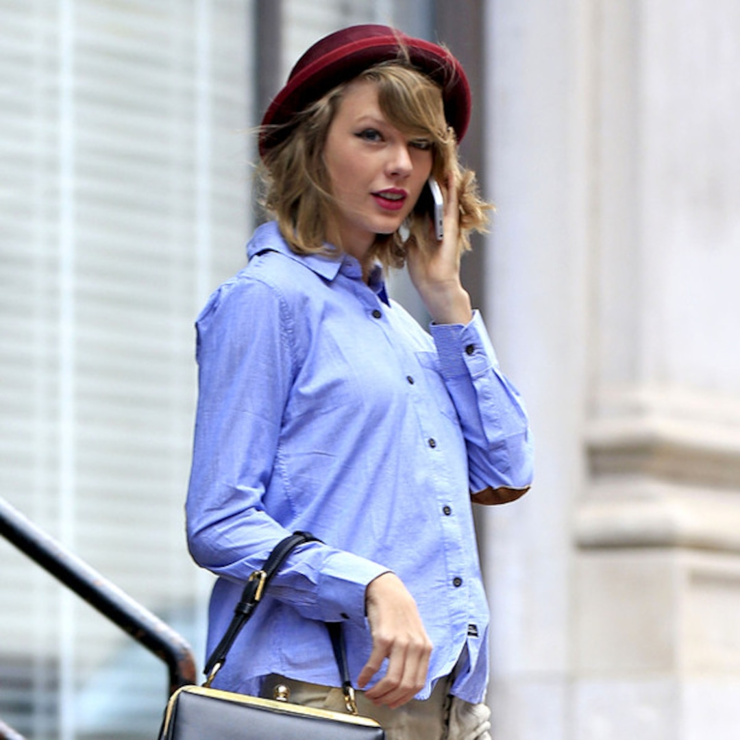 Taylor Swift wears tight leather shorts - Mirror Online