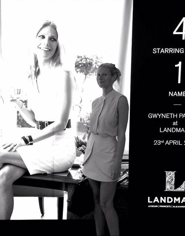 Gwyneth Paltrow, Twit Pic