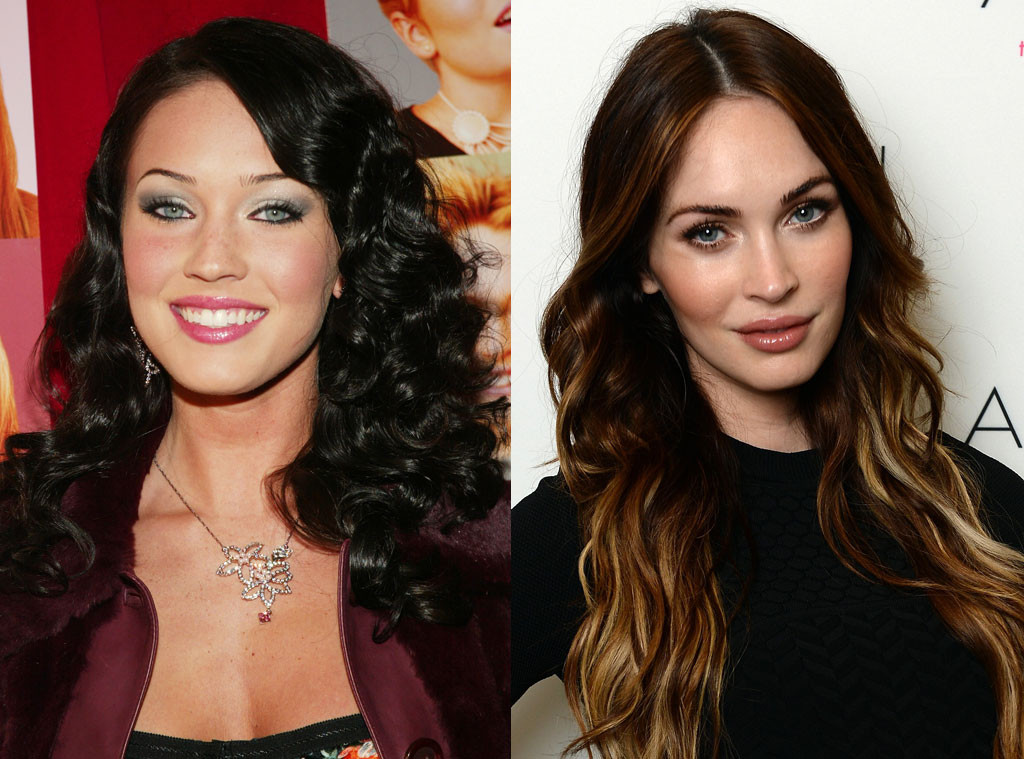 Megan Fox, Then and Now