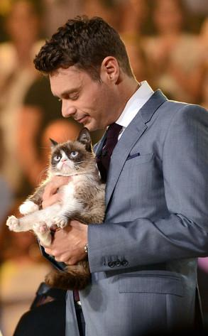 Ryan Seacrest, Grumpy Cat