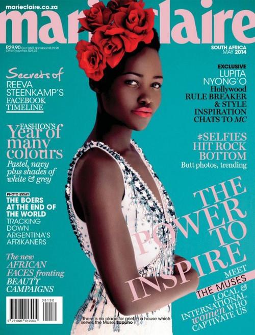 Lupita Nyong'o, Marie Claire