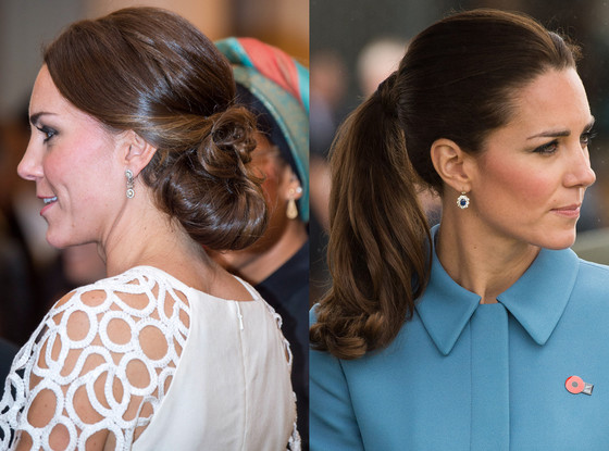 Kate Middleton, Duchess Catherine, Hair