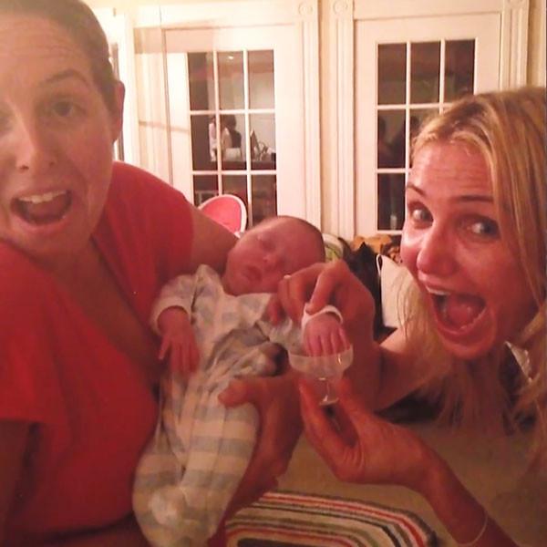 Watch Cameron Diaz Prank Jimmy Fallon's Baby! | E! NewsCameron Diaz Baby Pics