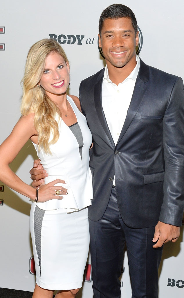 Who is russell wilson from the seahawks dating apps