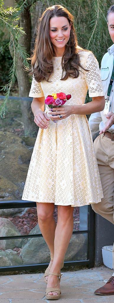 Kate Middleton Effect Still Going Strong Yellow Dress