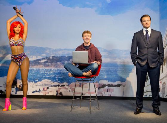 Mark Zuckerberg, Rihanna, Leonardo DiCaprio
