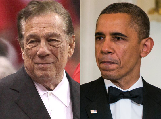 Donald Sterling, Barack Obama