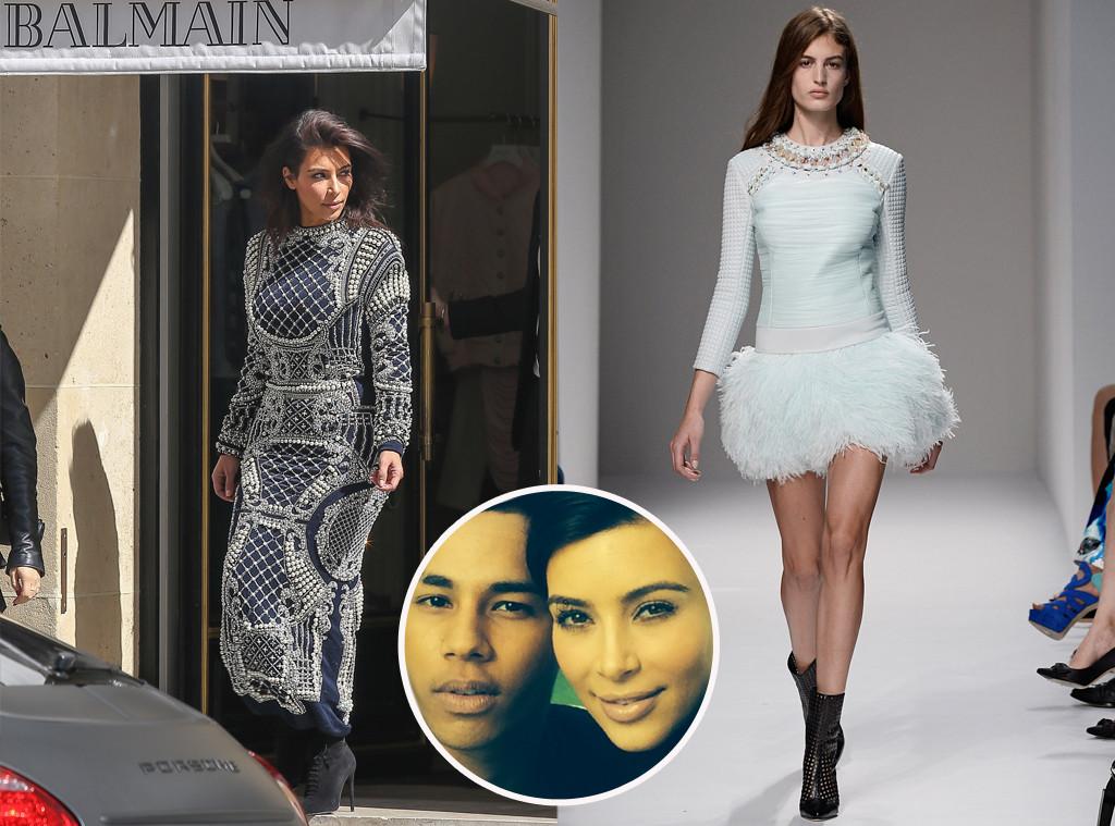 Kim Kardashian, Balmain