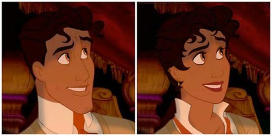 Genderbent Disney Characters