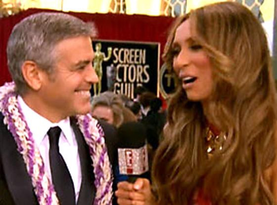 Giuliana Rancic, George Clooney
