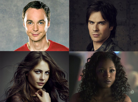 Rutina Wesley, True Blood, Ian Somerhalder, Vampire Diaries, Willa Holland, Arrow, Jim Parsons, Big Bang Theory
