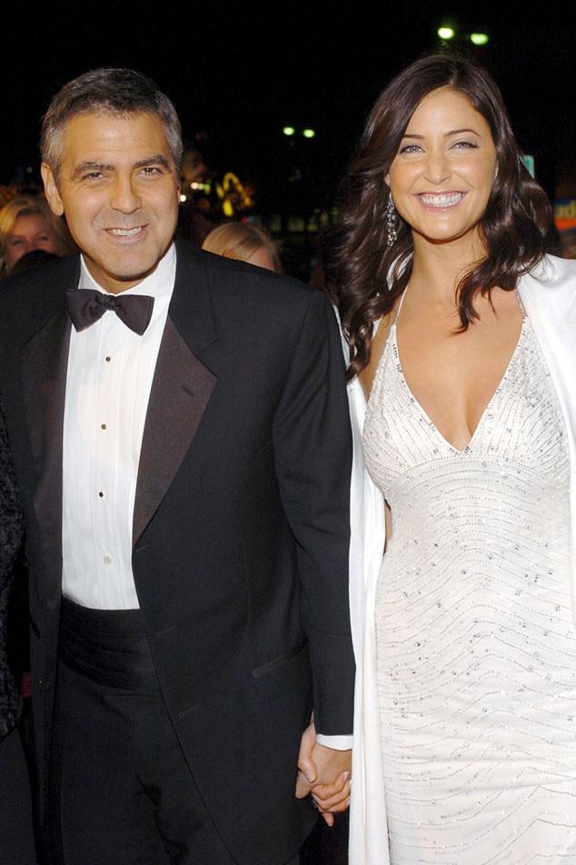Lisa Snowdon, George Clooney
