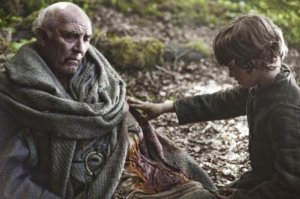 Image result for maester luwin death