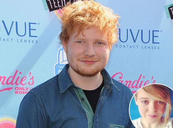 Ed Sheeran, Triona Priestley
