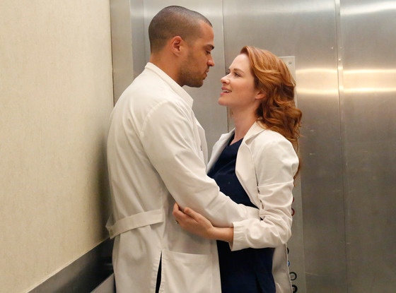 Grey's Anatomy, Sarah Drew, Jesse Williams