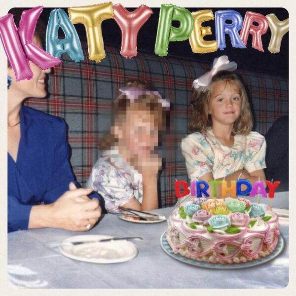 Katy Perry, Birthday, TBT, Twit Pic