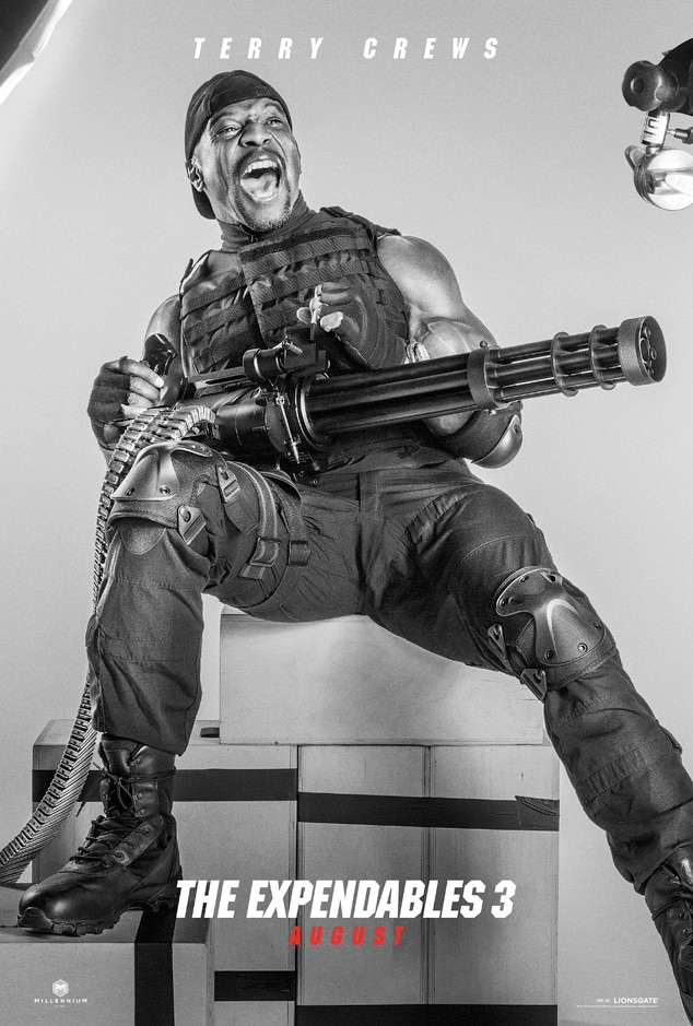 Terry Crews, Expendables 3, Poster