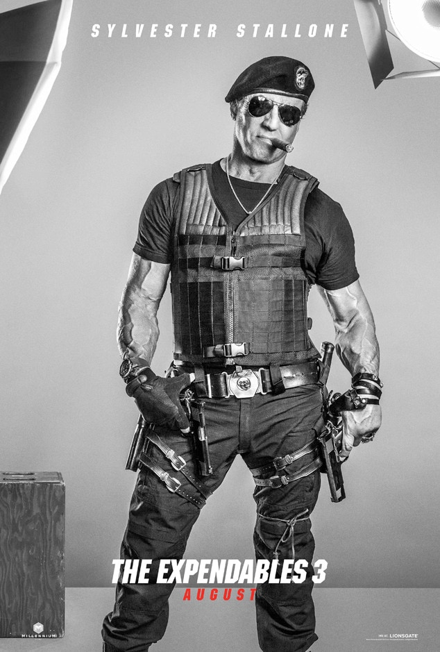 Sylvester Stallone, Expendables 3, Poster