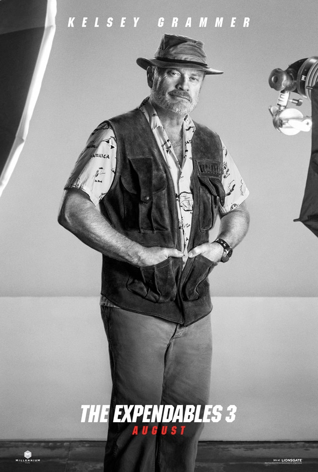 Kelsey Grammer, Expendables 3, Poster