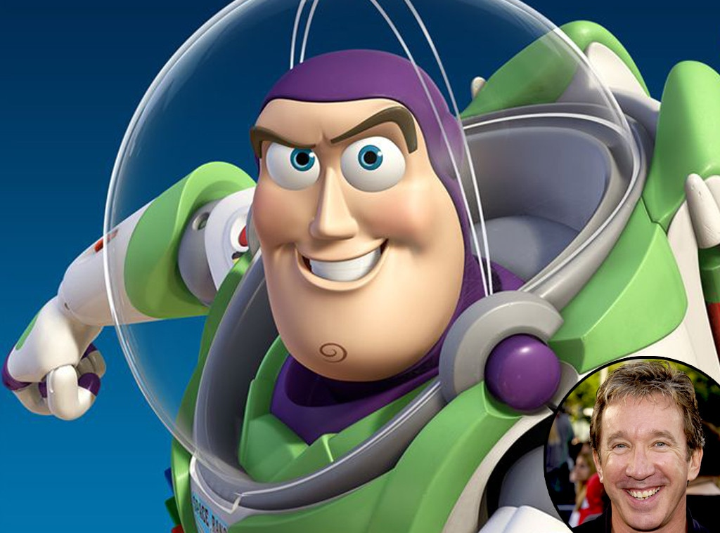 Buzz Lightyear, Toy Story, Tim Allen, Disney Voices
