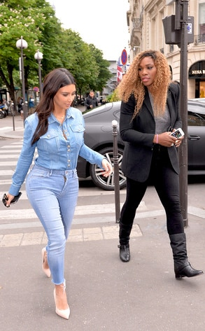 Kim Kardashian, Serena Williams