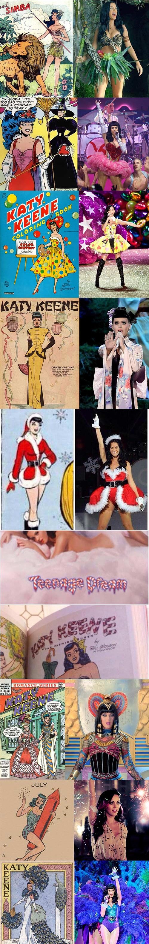 Katy Perry pin-up