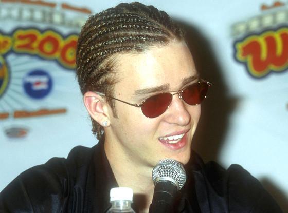 Justin Timberlake, Cornrows